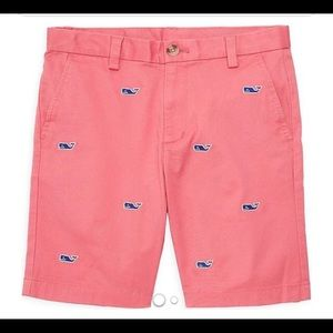 Vineyard Vines Coral Shorts Boys size 12